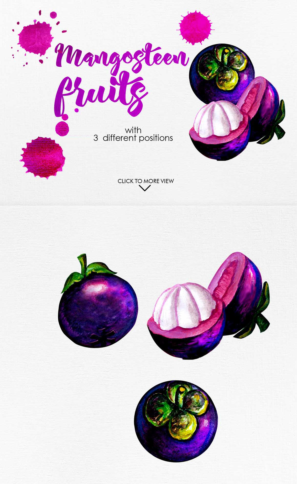 Watercolor Fruits Vol. 3 example image 7