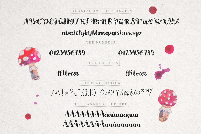 Amanita duo font example image 4