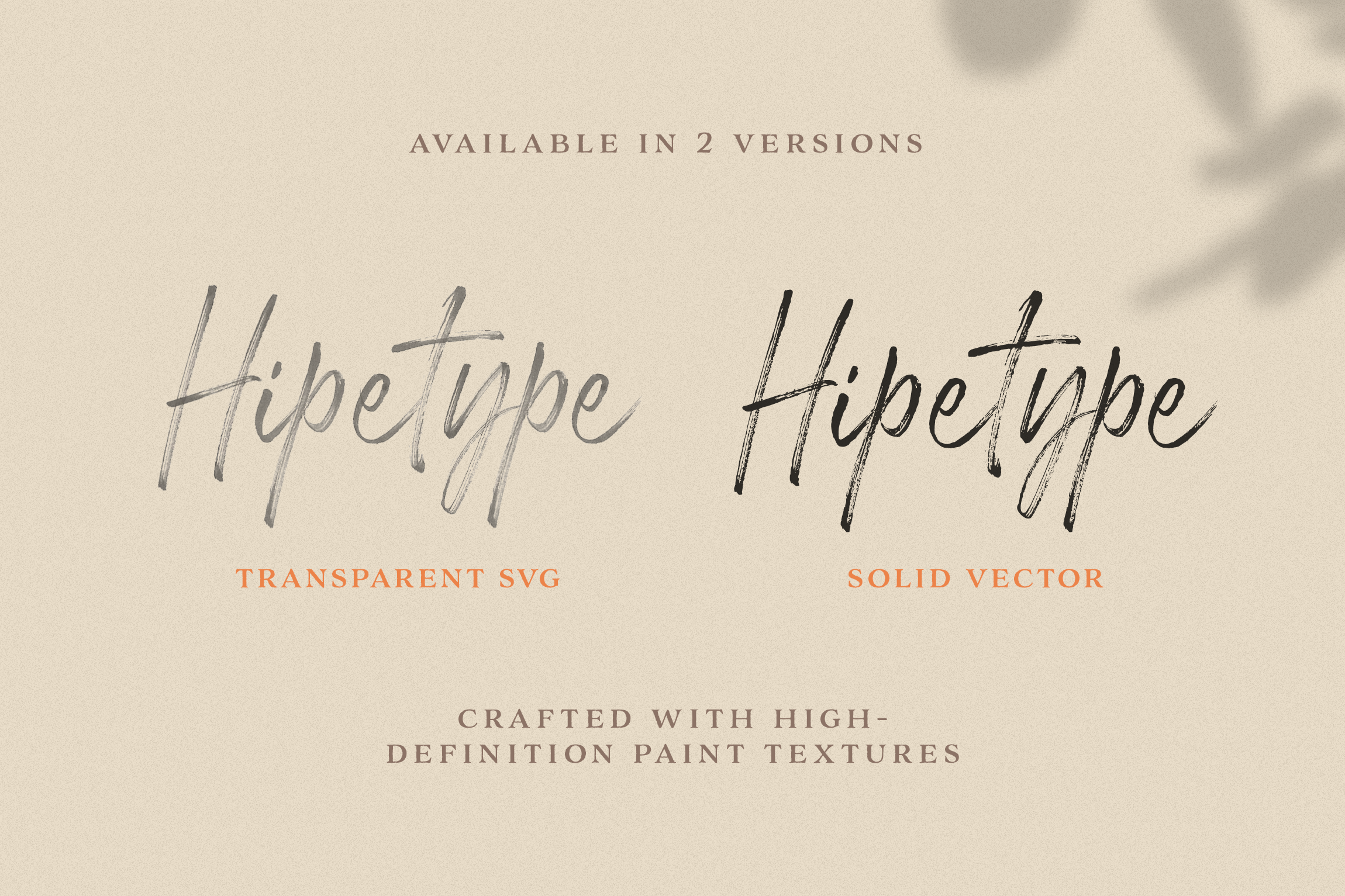 Hipetype SVG Font example image 4