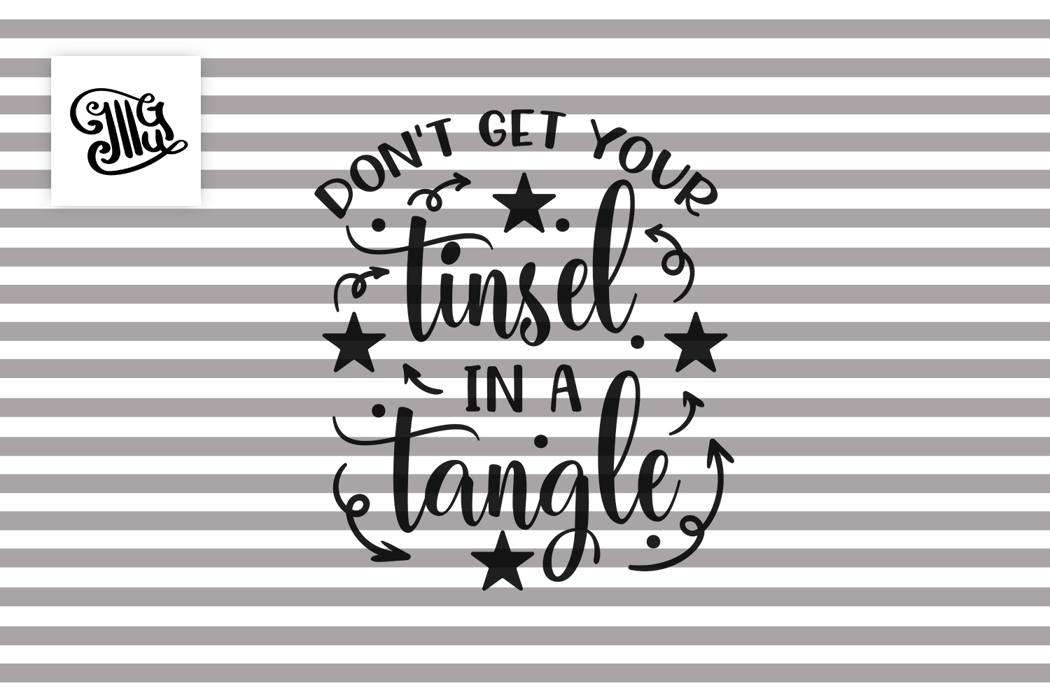 Don't get your tinsel in a tangle Christmas sayings example image 2