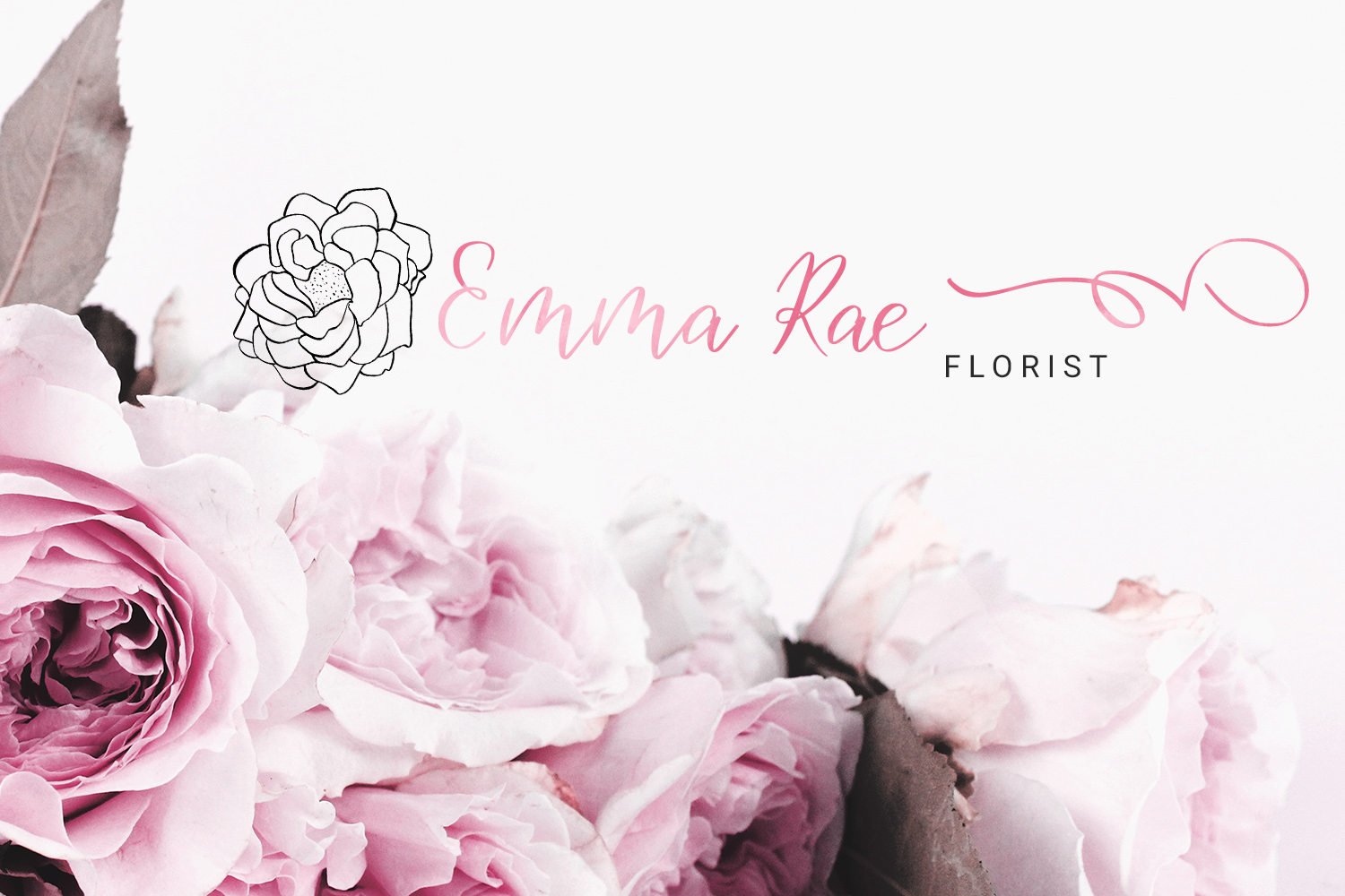Birdy Roses | Script font and Swashes example image 12