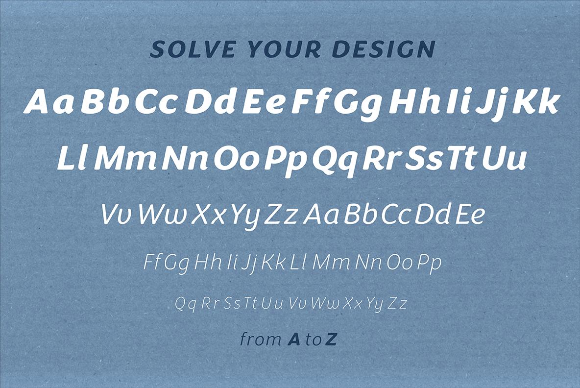 Congenial Italic Extra Light example image 7