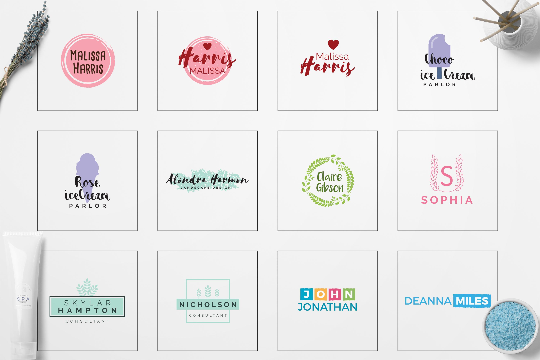 GIRLPOWER Feminine Branding Logo Pack example image 4