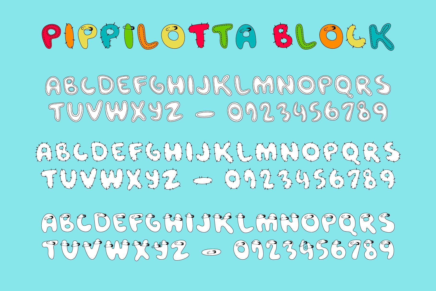 Pippilotta duo font example image 4