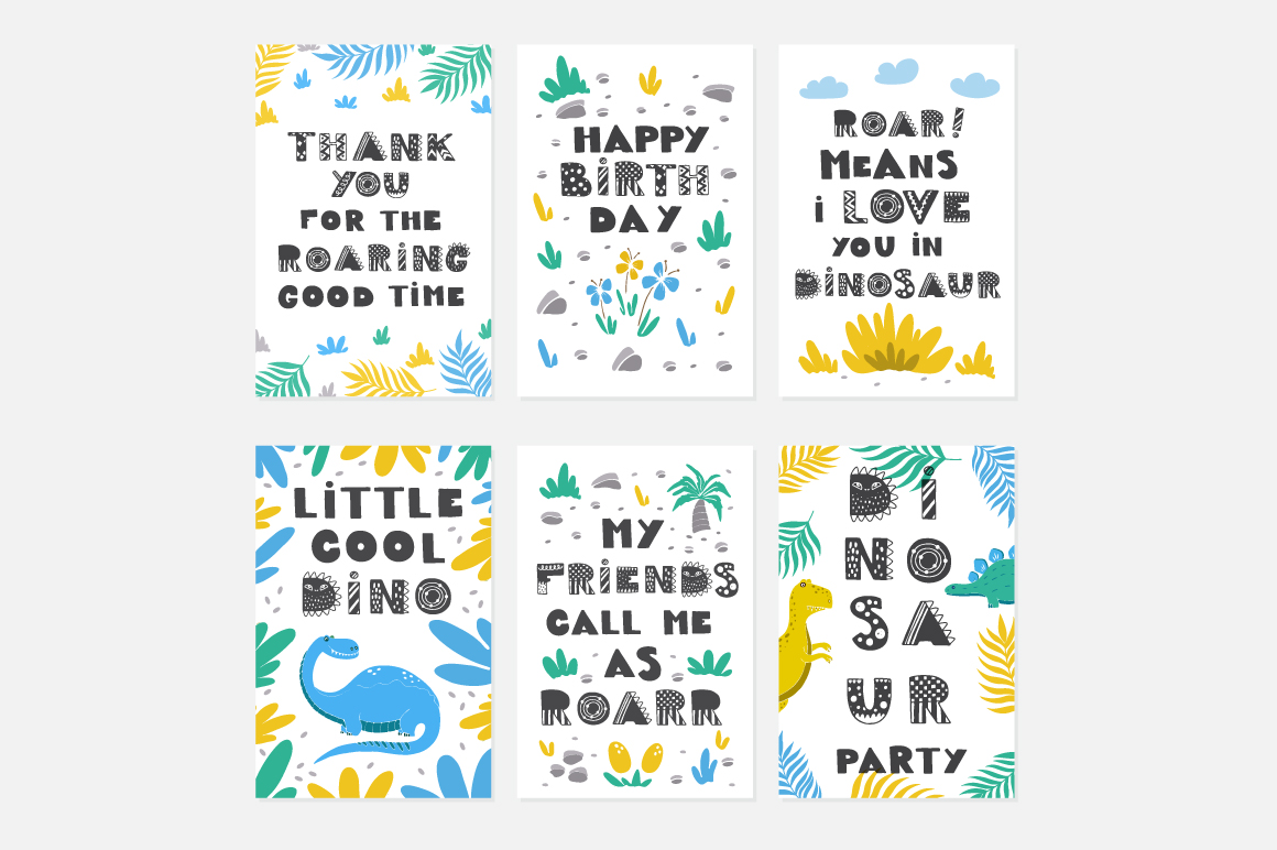 Dinosaur Party collection! example image 6