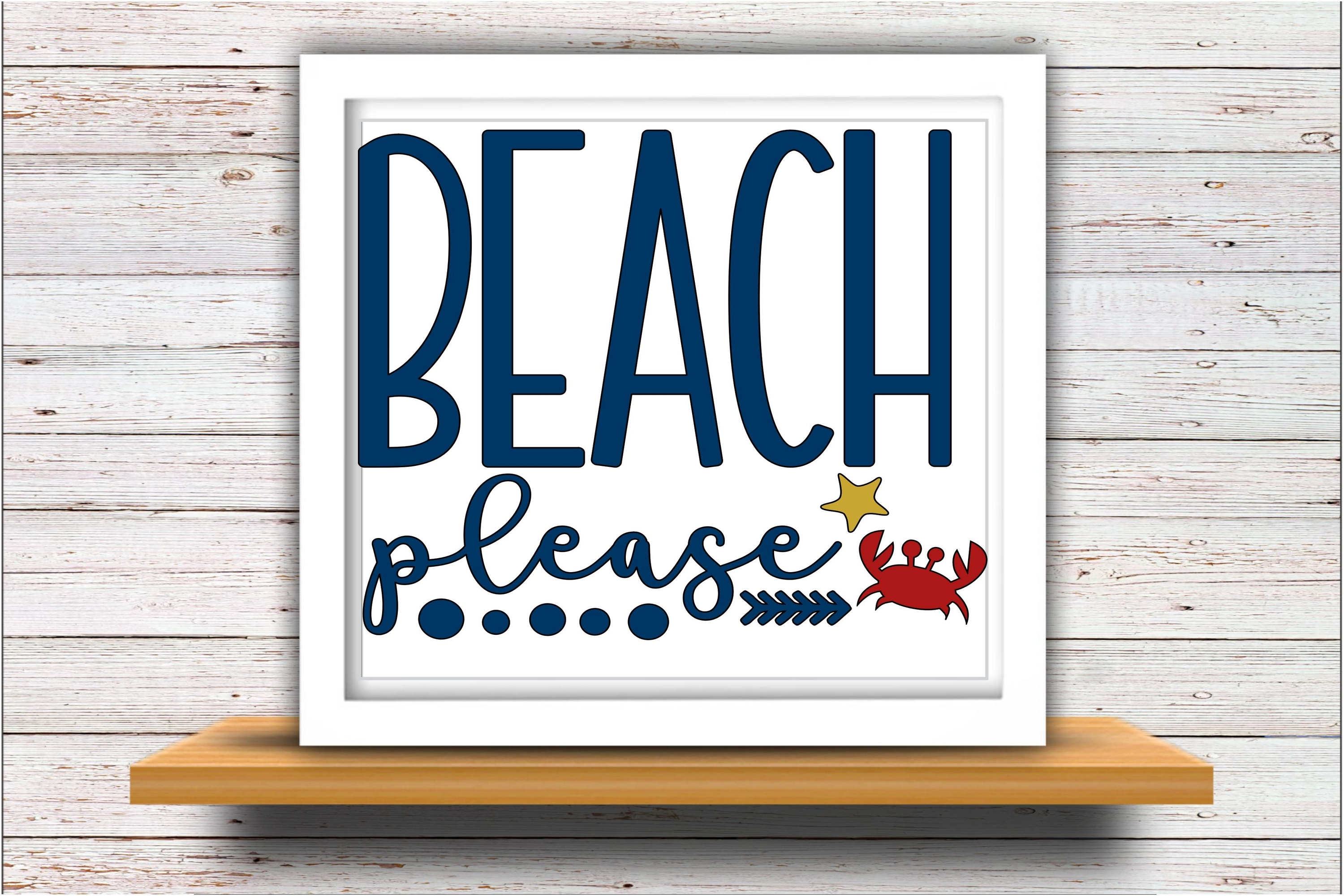 Beach SVG DXF JPEG Silhouette Cameo Cricut vacation svg example image 2
