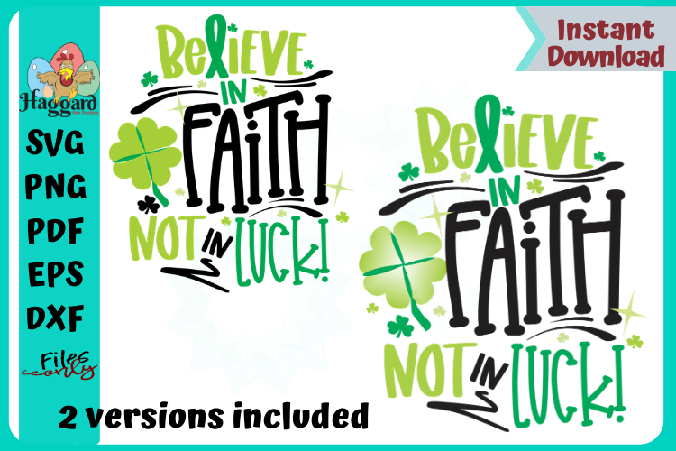 Believe in Faith example image 2