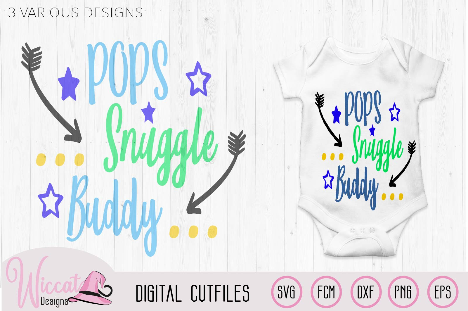 Daddy's snuggle buddy, Pops snuggle, Grandpa, Fathers day example image 2