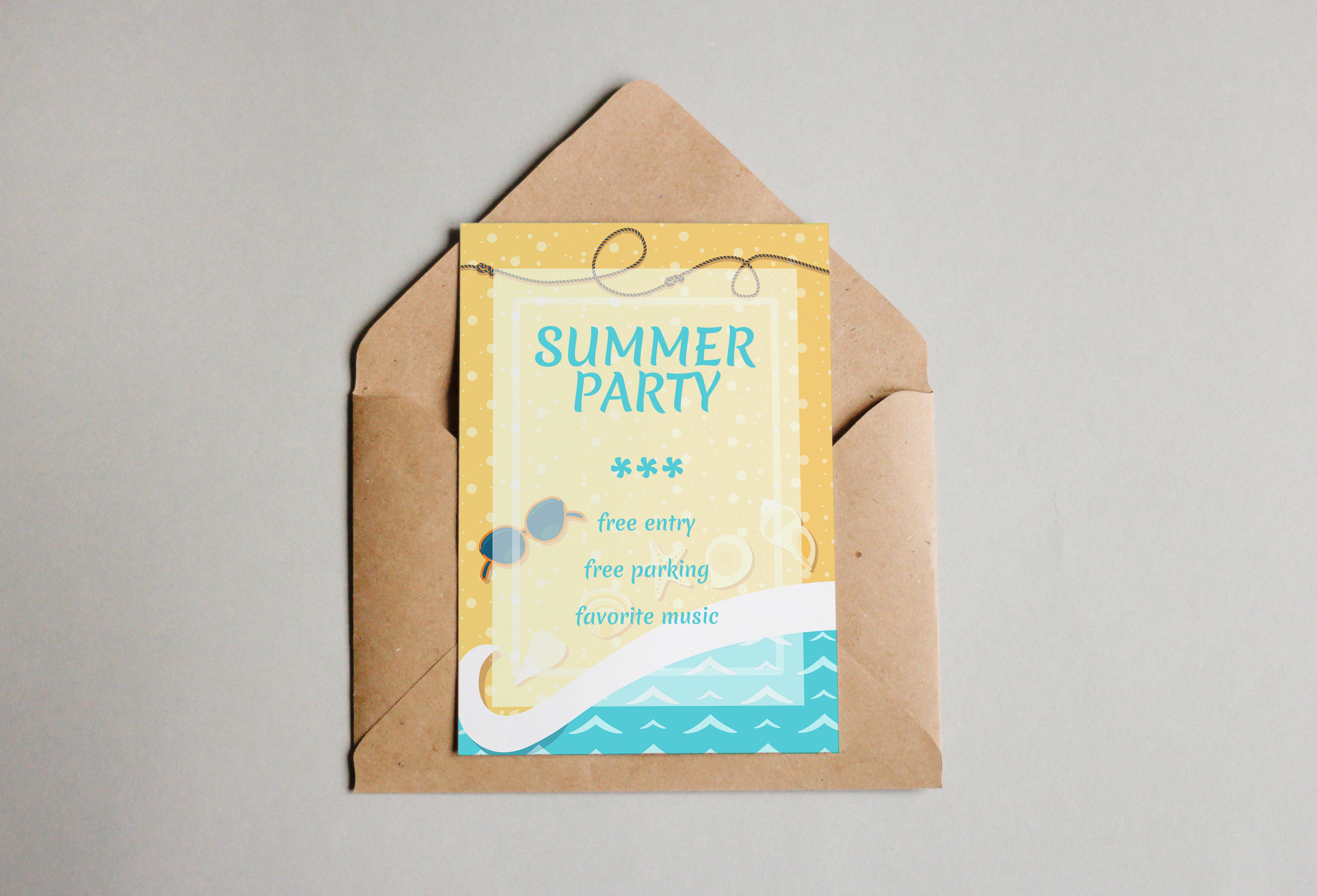 Summer leaflets example image 2