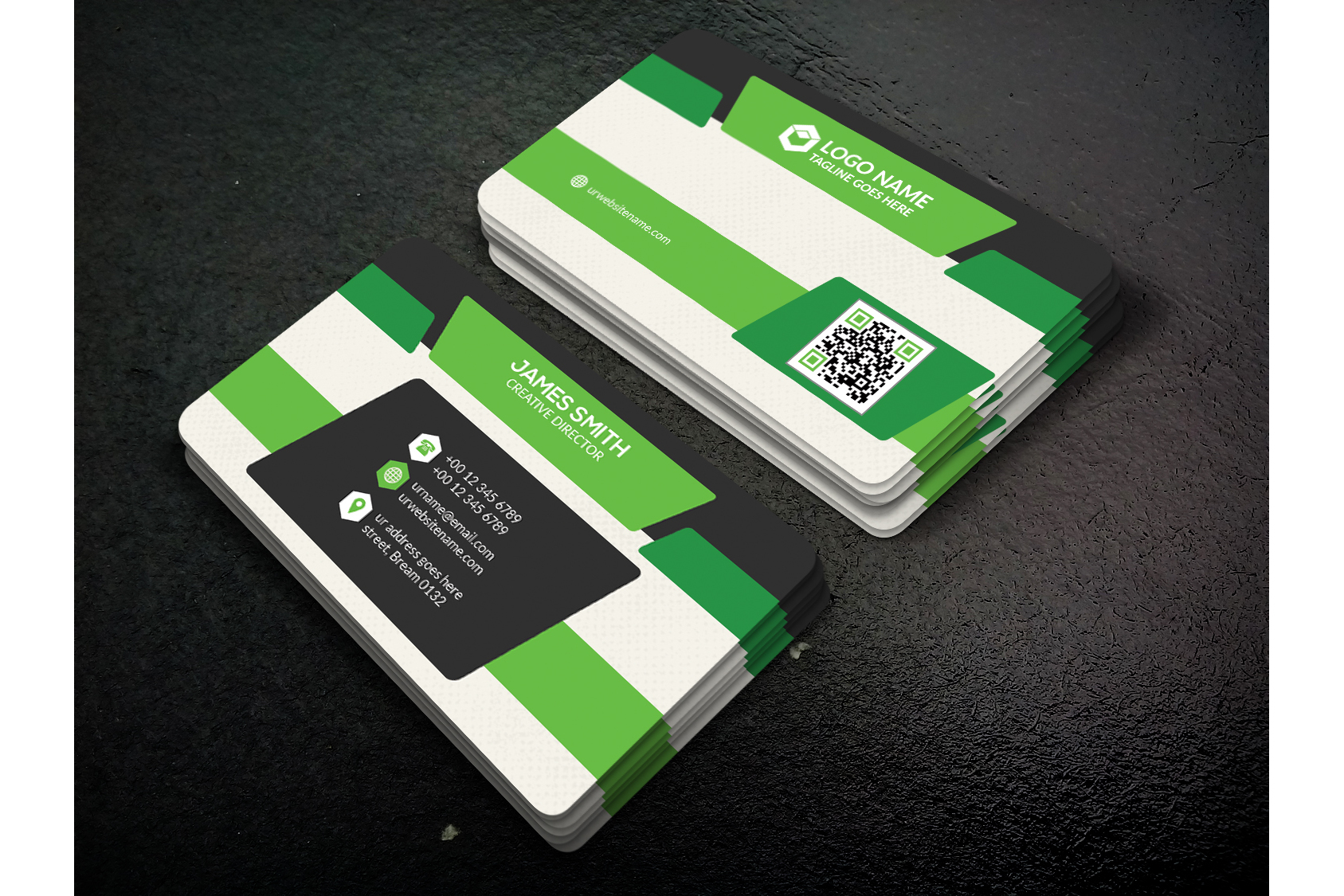 Corporate Business Card example image 2