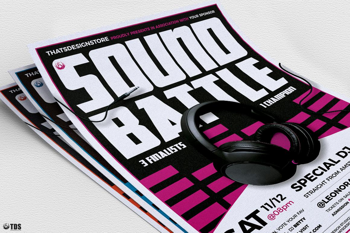 DJ Battle Flyer Template V3 example image 8