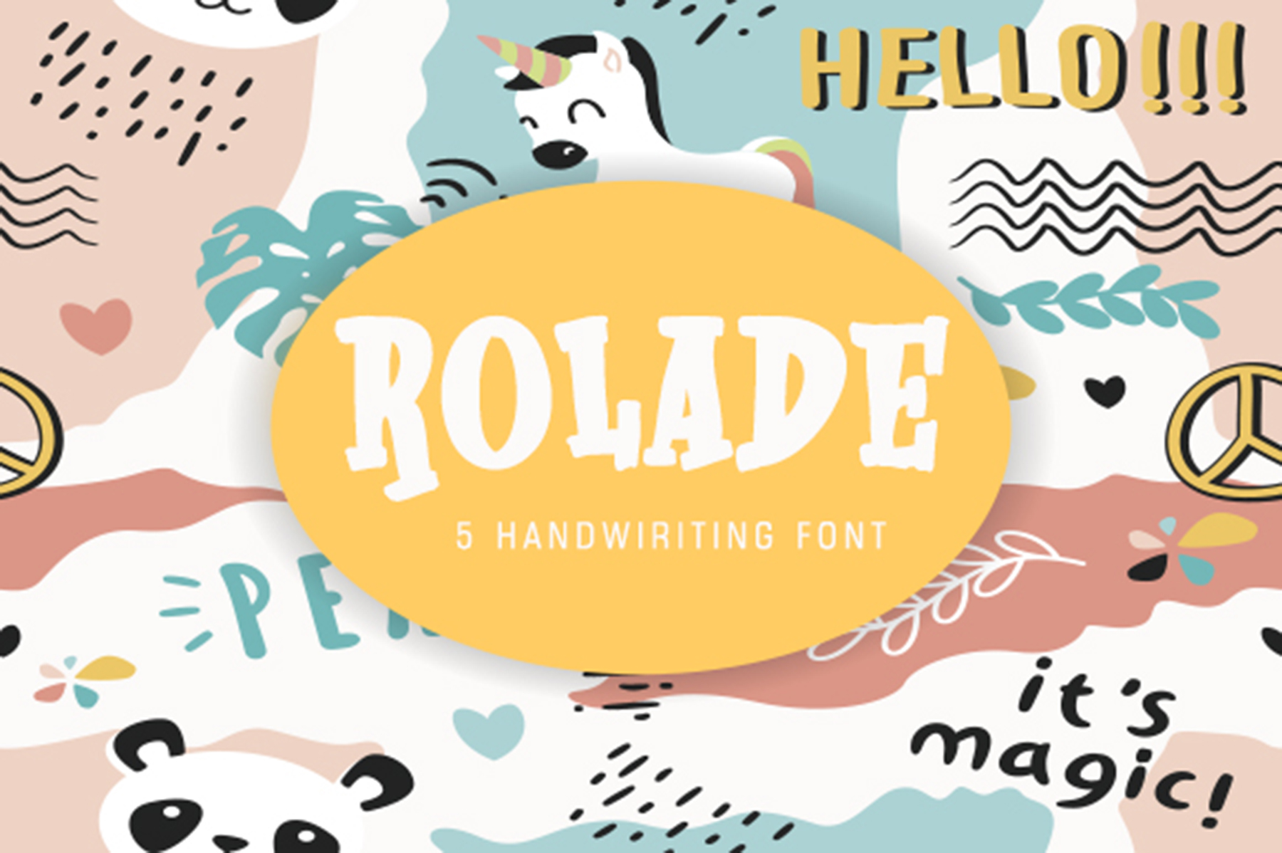 Rolade 5 Font example image 1