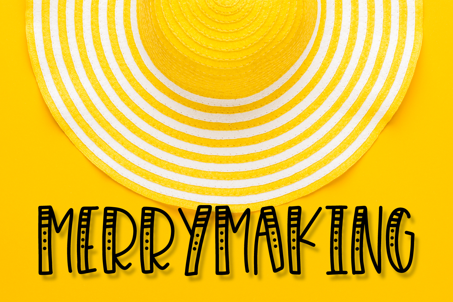 Merrymaking - 4 Styles Font Duo - Handlettered example image 1