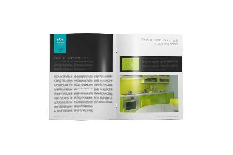 32 Pages Magazine Template example image 4