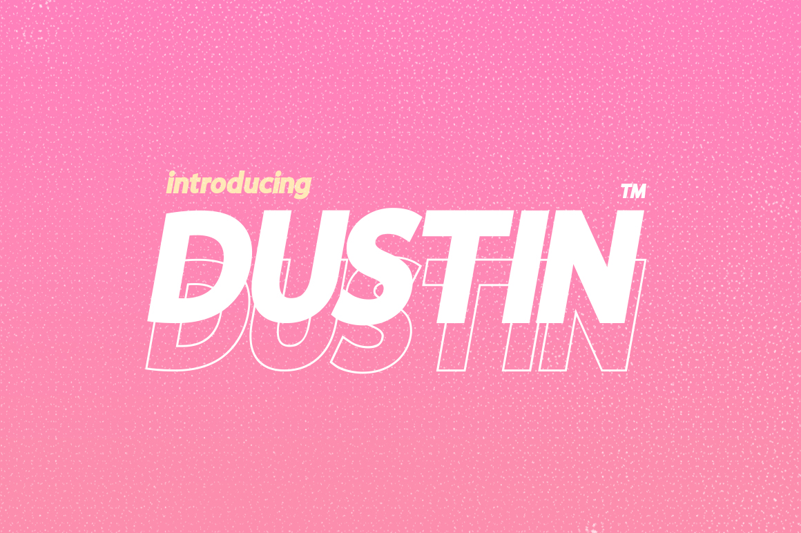 Dustin Font Family example image 1