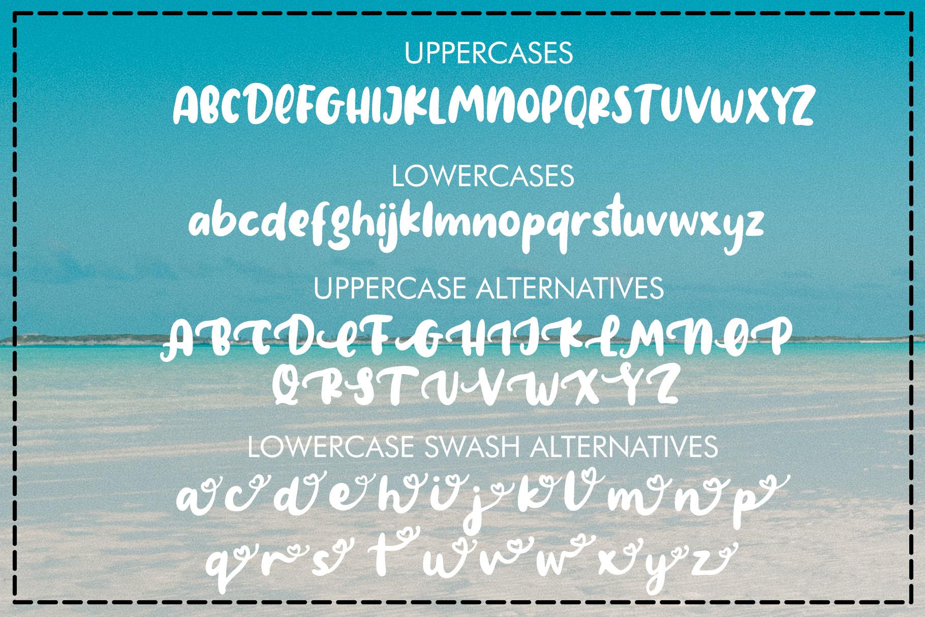 Amigos - Summer Font example image 8