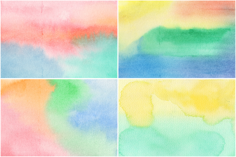 20 Watercolor Backgrounds example image 6