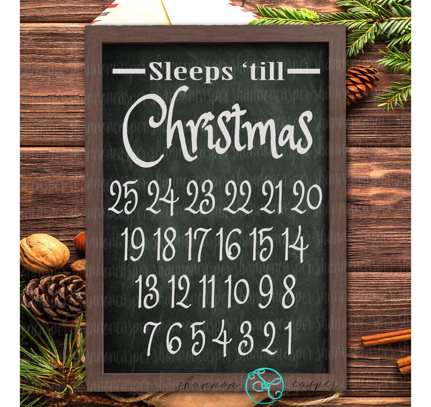 Christmas Advent Calendar SVG example image 2