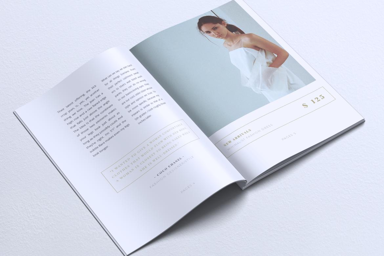 MEDUSA Minimal Lookbook Magazines example image 4