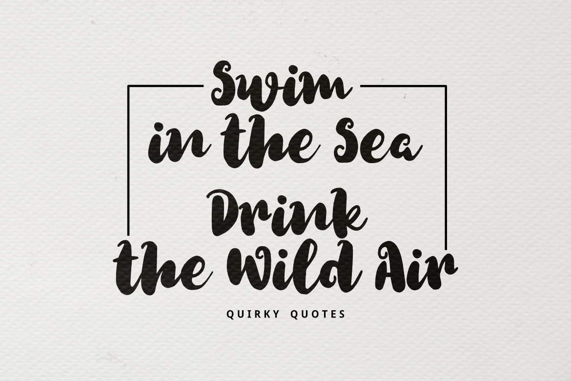 Quirky Font example image 3