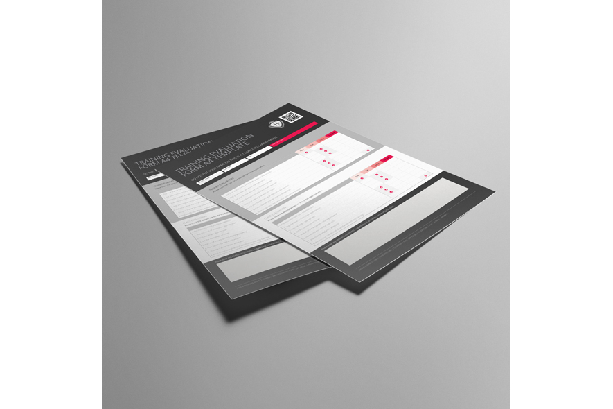 Training Evaluation Form A4 Template example image 3