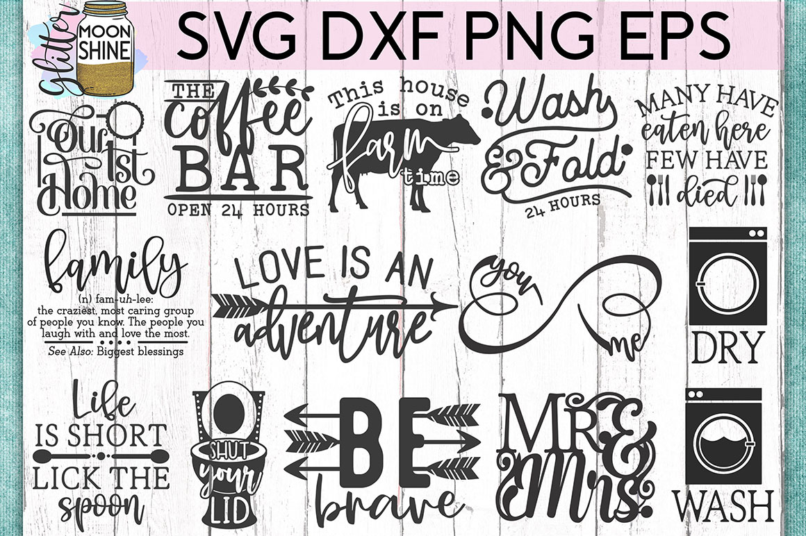 Huge Sign Making Bundle #3 SVG DXF PNG EPS Cutting Files example image 2