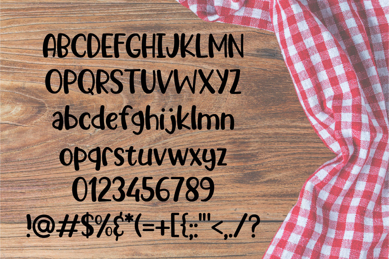 Picnic Basket - A Delicious Outdoors Font example image 2