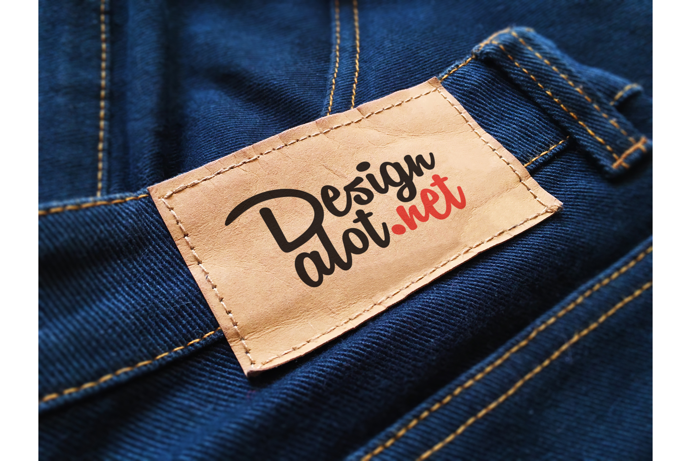 7 Jeans and Pants Label Mockups example image 5