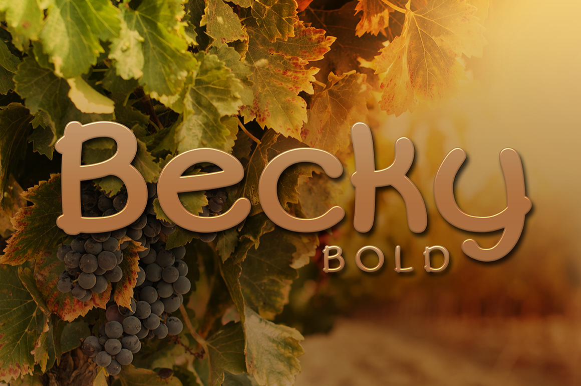 Becky Bold example image 1