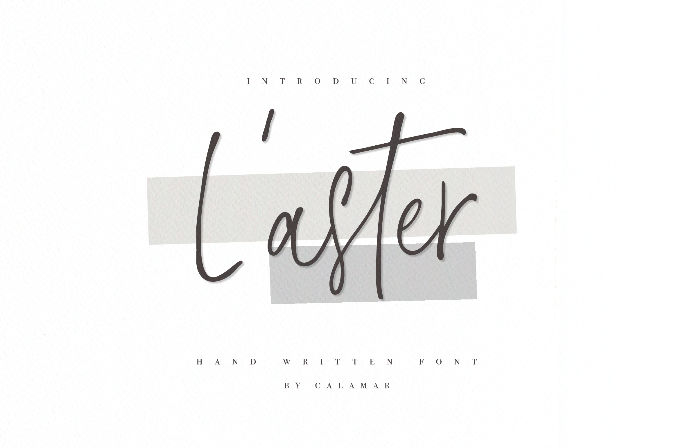 L'aster Font example image 1