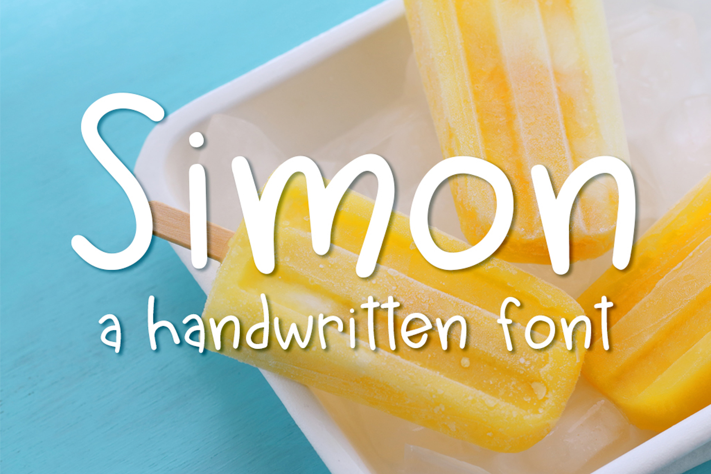 Simon Font example image 1