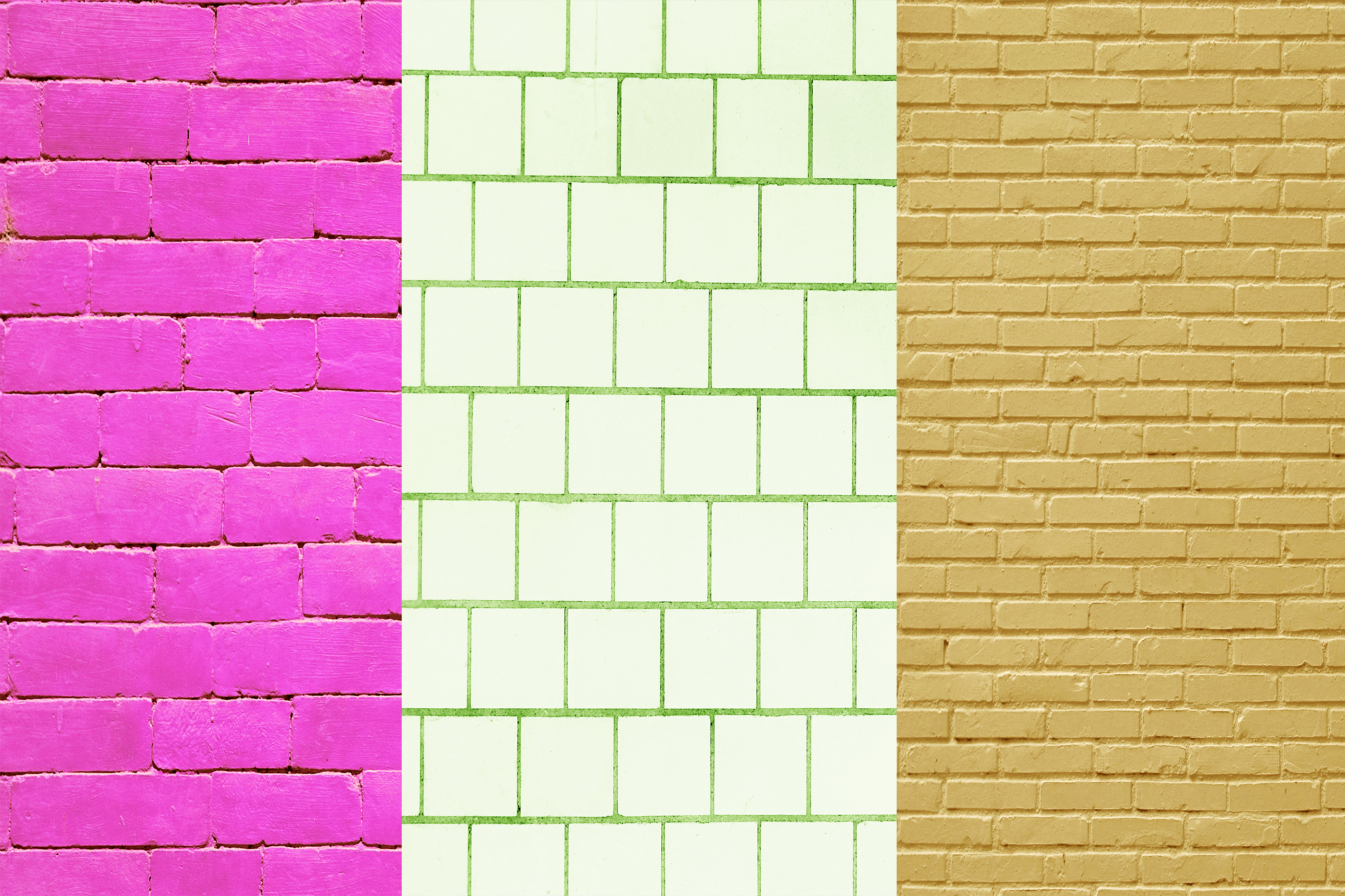 Brick Wall Digital Papers, Wall Textures, Wall Backgrounds example image 4