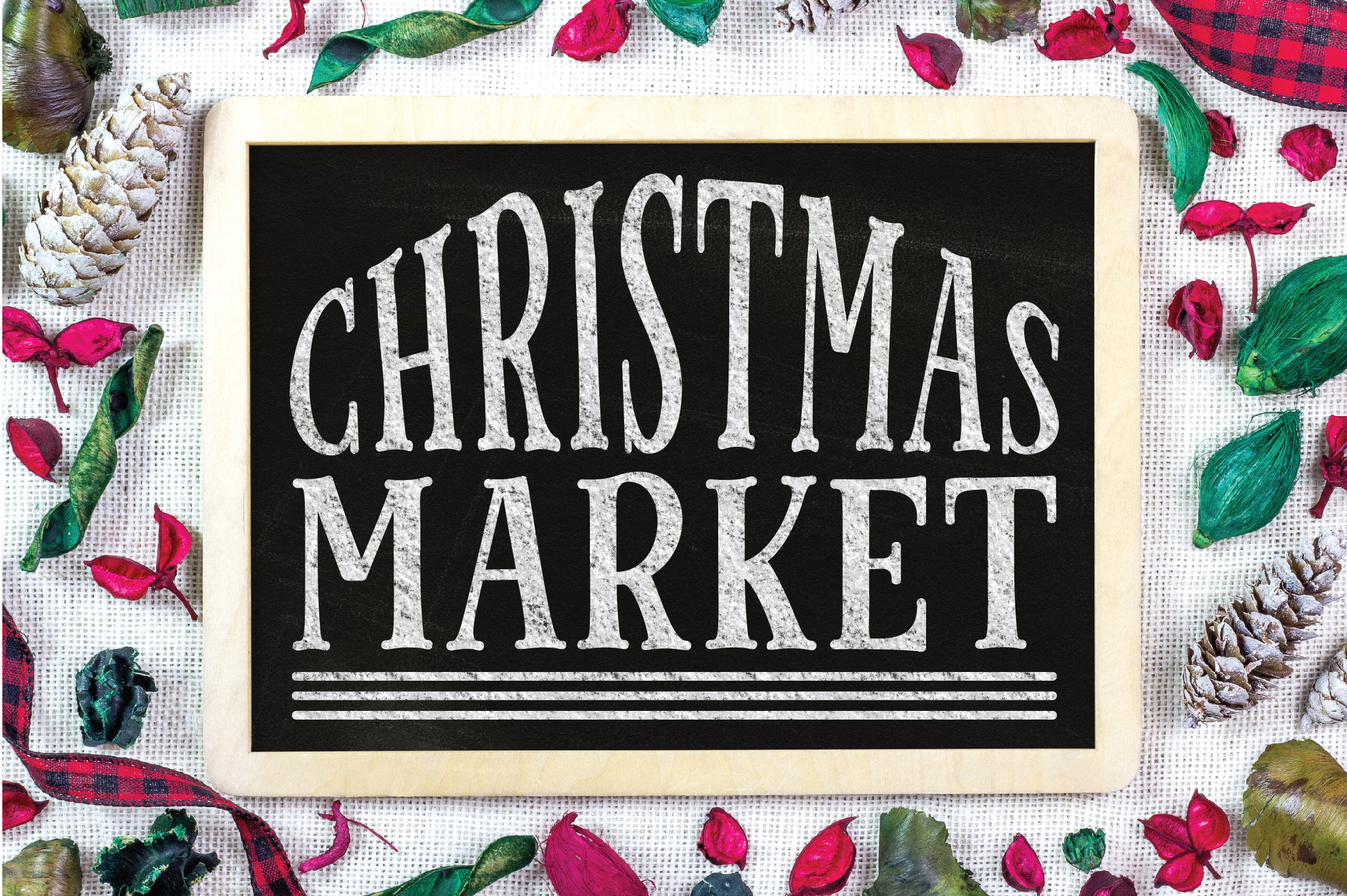 Christmas SVG Cut File - Christmas Market SVG DXF PNG EPS example image 4