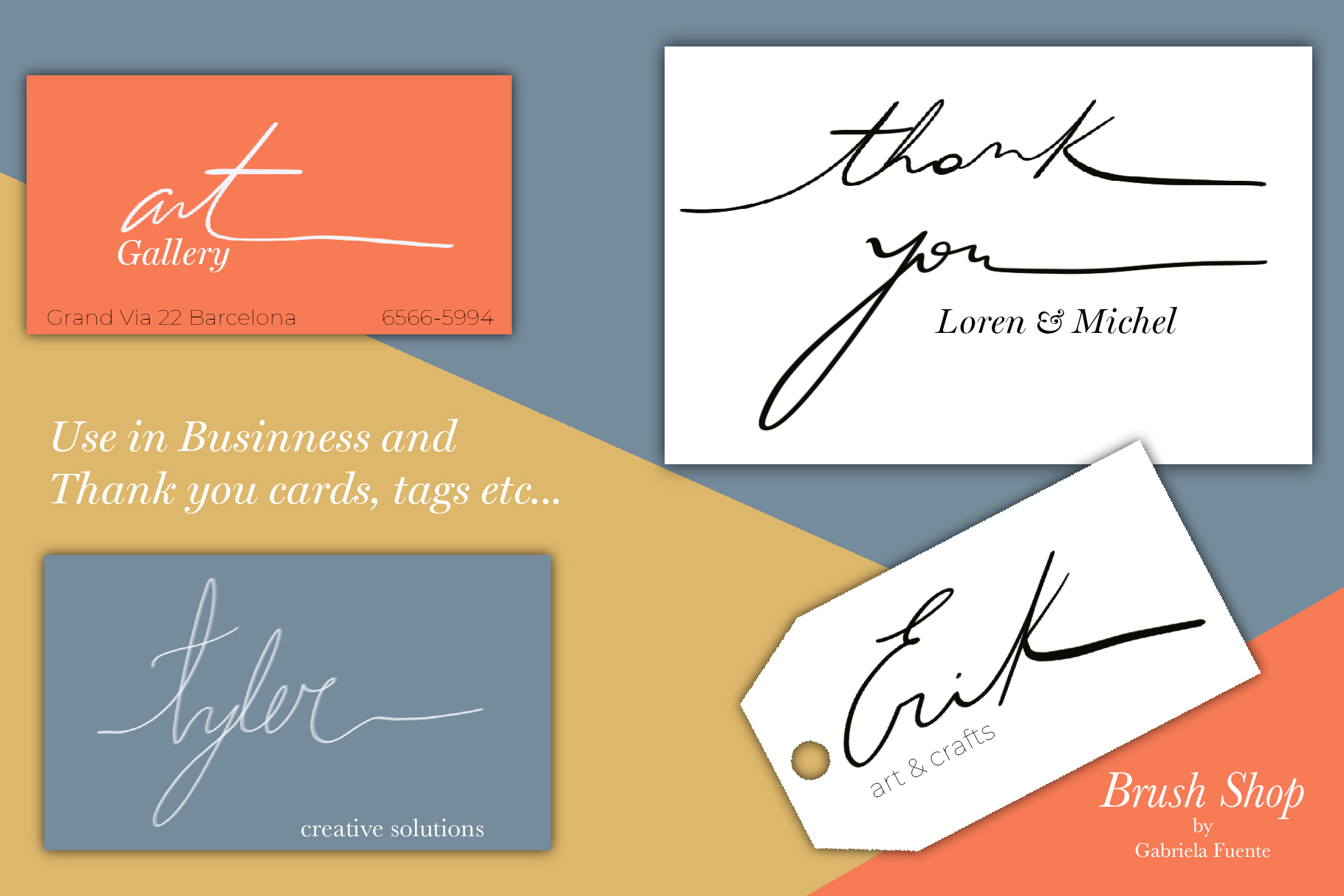 Lucy Calligraphy & Lettering brush example image 8