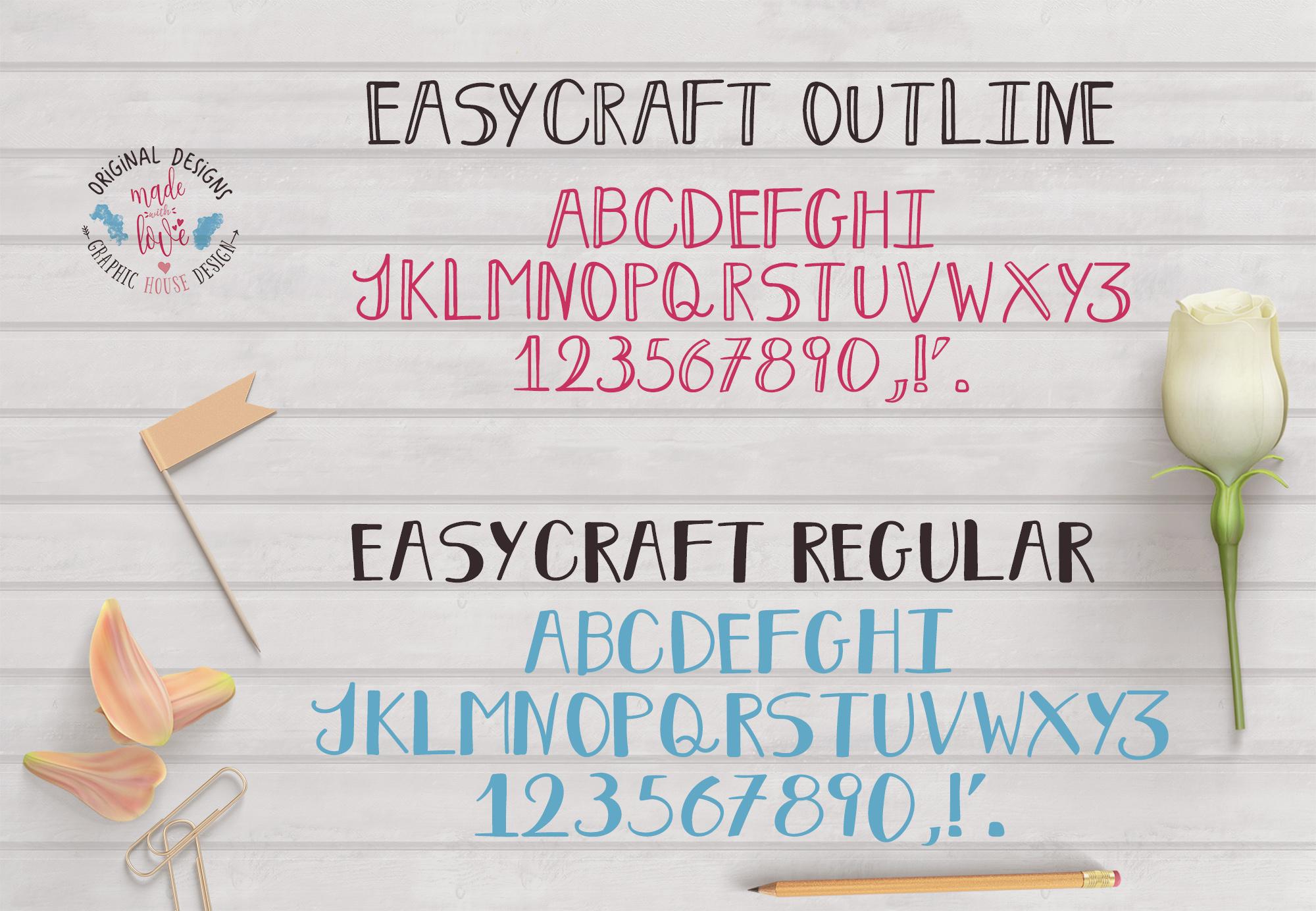 Easycraft Font example image 2