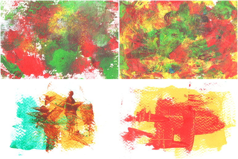 Abstract Acrylic Background example image 12