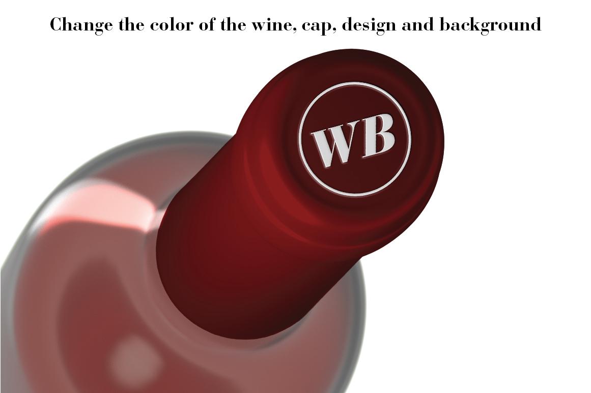 Wine Mockup Set - Photoshop PSD example image 7