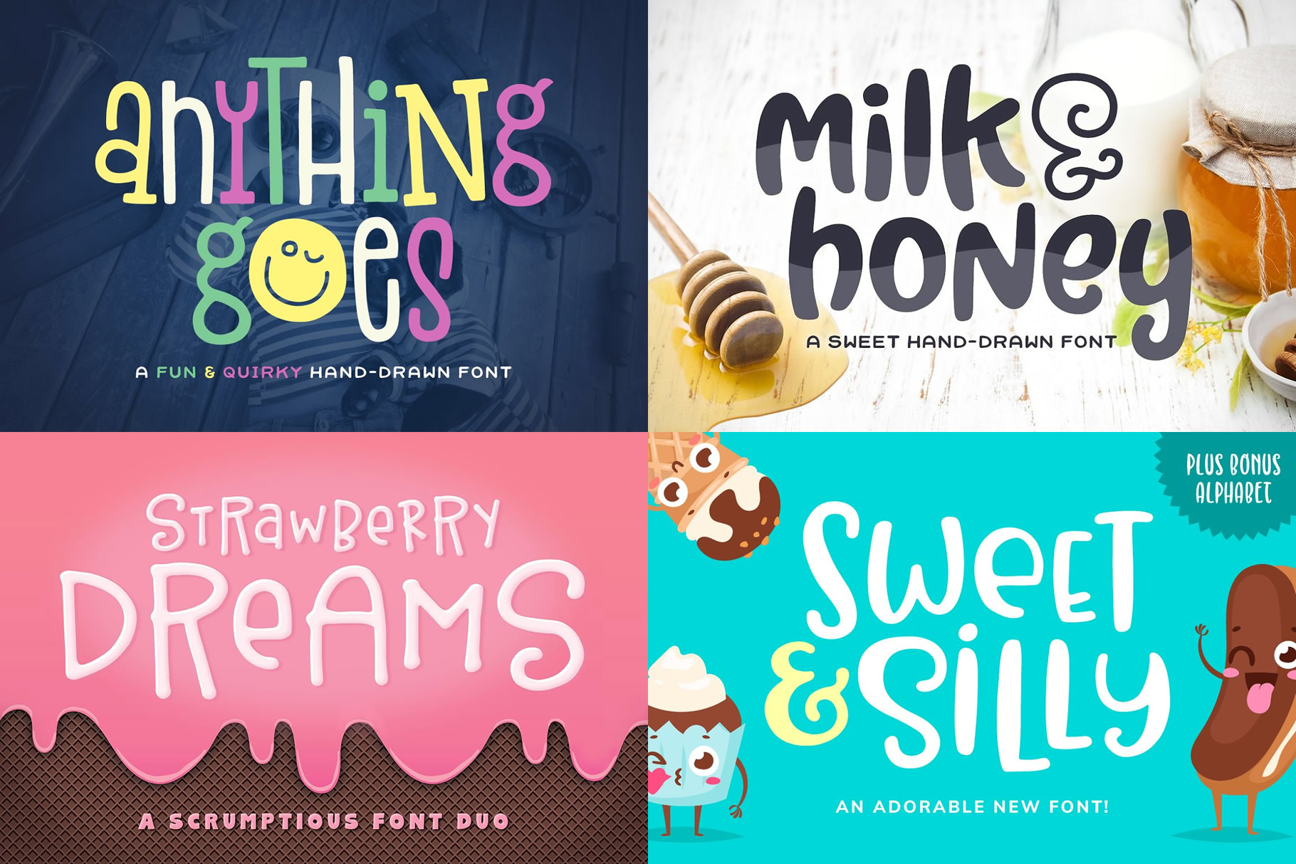 Sweet Tooth Font Bundle example image 2