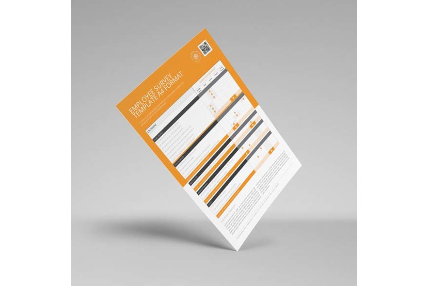 Employee Survey Template A4 Format example image 2