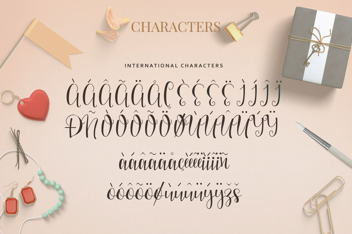 Mellany Typeface example image 5