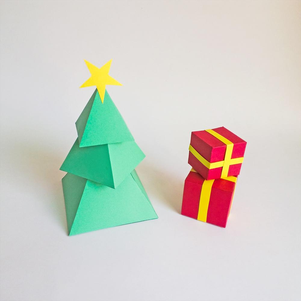 DIY Christmas Tree - 3d Papercraft example image 3