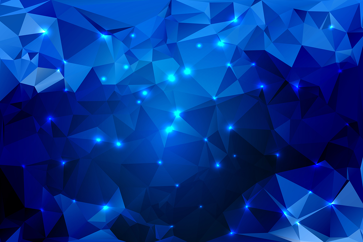 Polygon vector backgrounds set example image 16