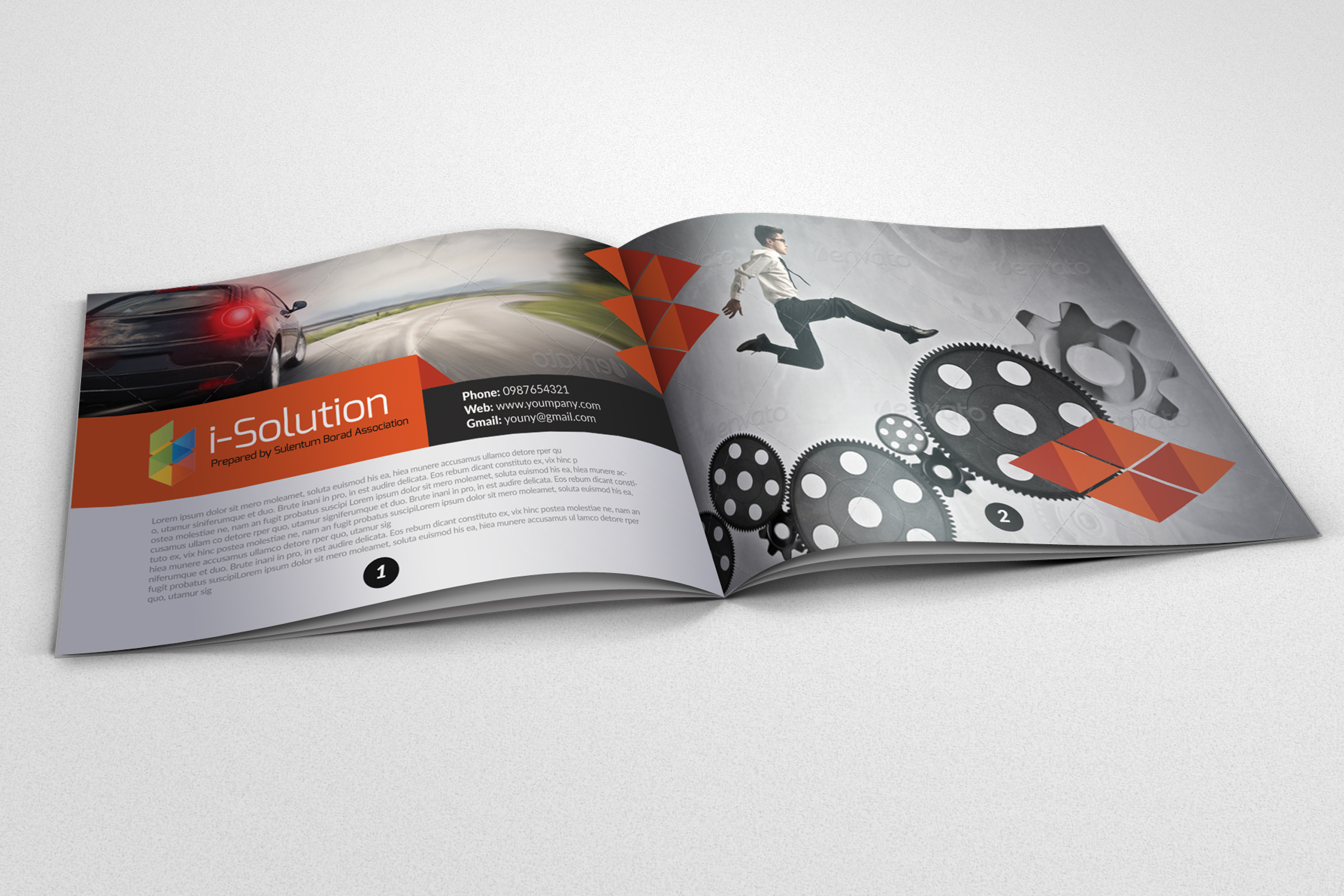 20 Pages Catalogue Business Bifold Brochure example image 10