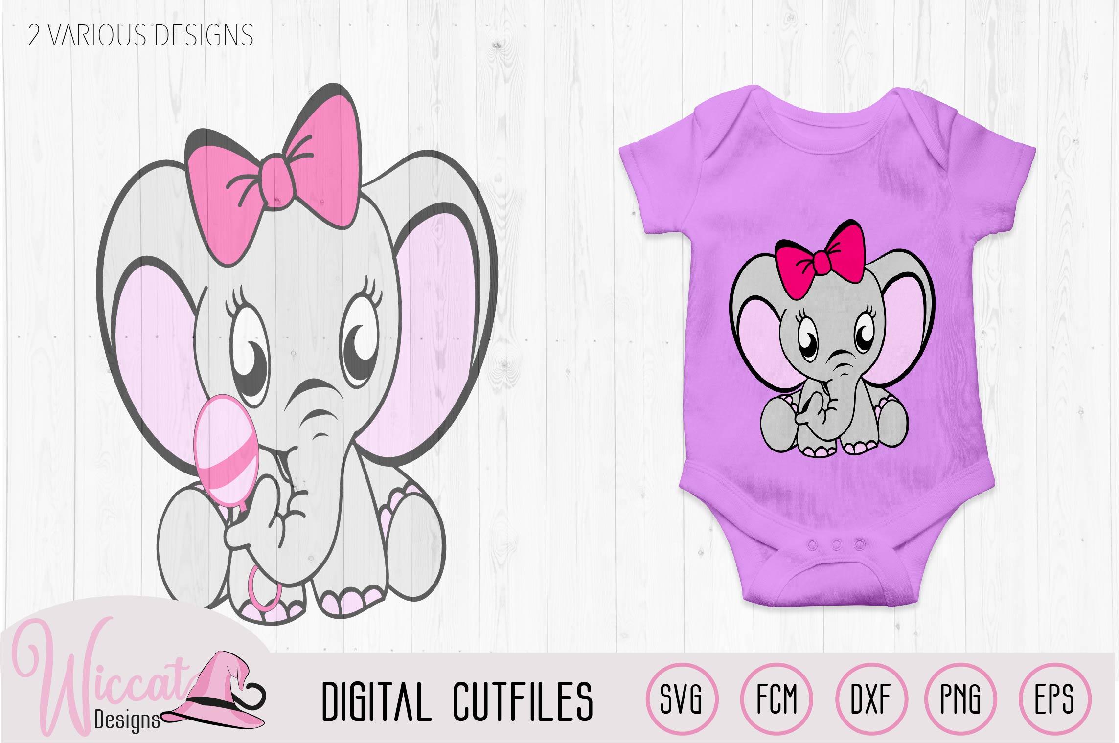 Elephant bundle, Baby elephant, Neutral boy, girl example image 3