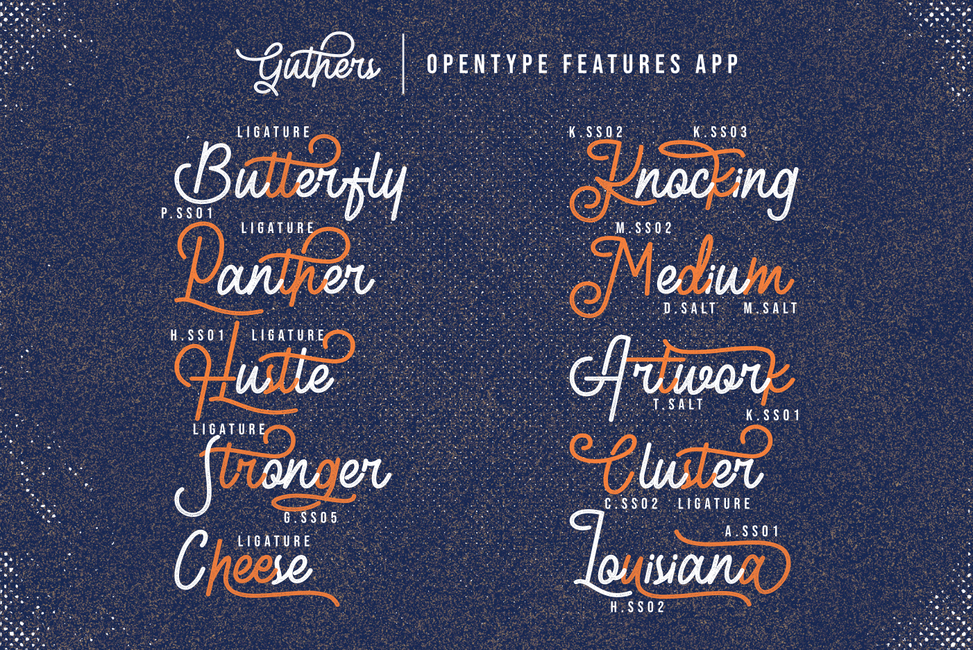 Guthers - Monoline Script Font example image 11