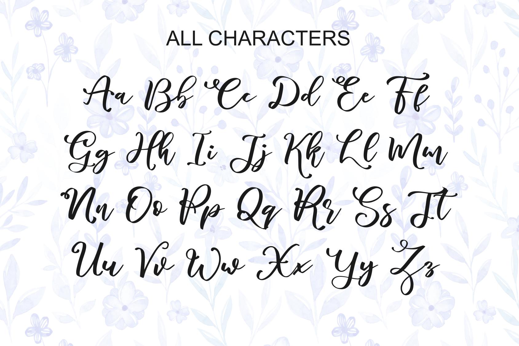 marlita -beautiful font- example image 10