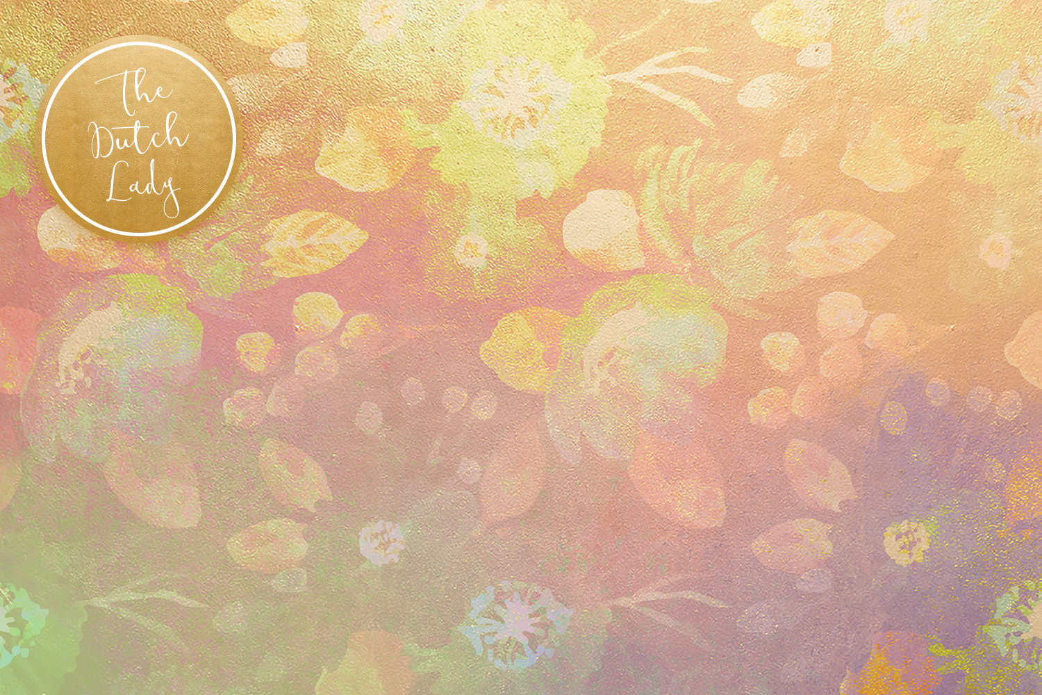 Floral Backgrounds & Paper Designs - Michelle example image 4