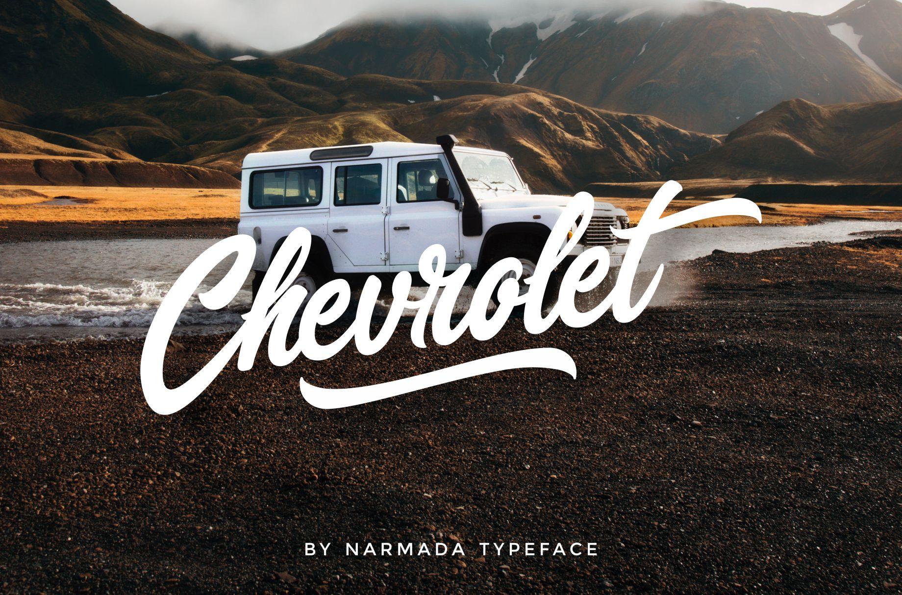 Narmada Typeface example image 8
