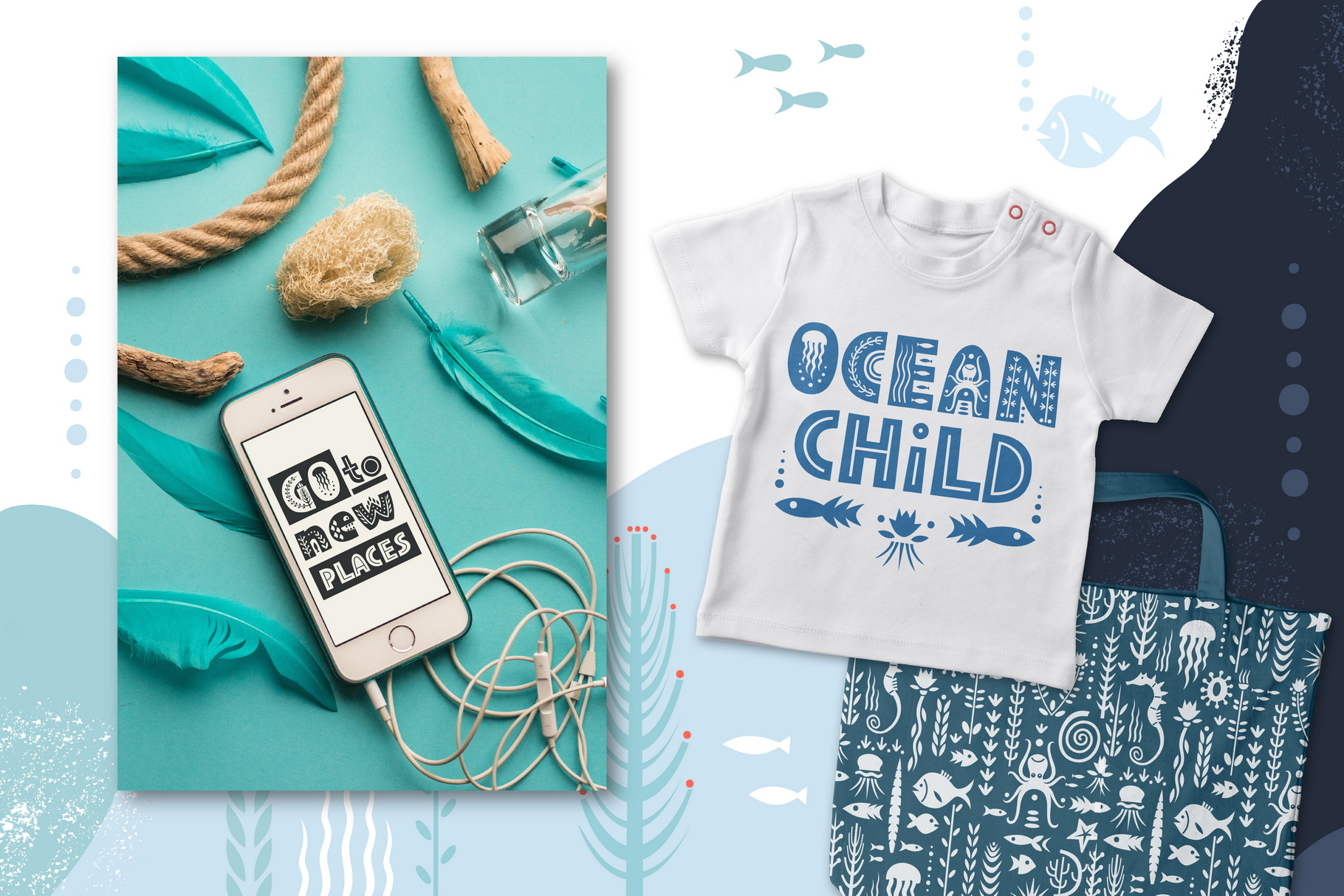 Sealife Font Family example image 4