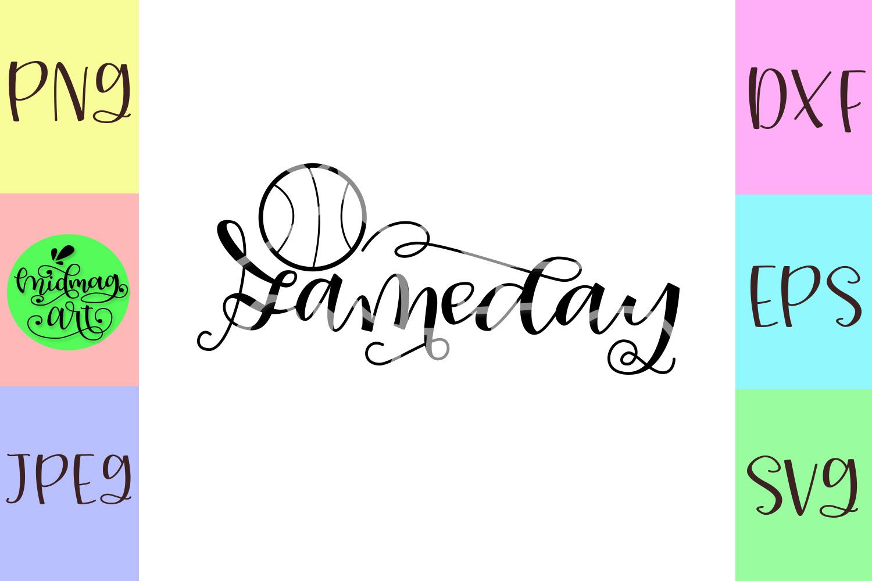 Gameday svg, basketball svg example image 2
